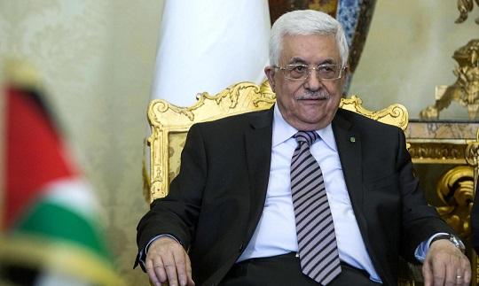 Laura Boldrini incontra Mahmud Abbas (Abu Mazen)