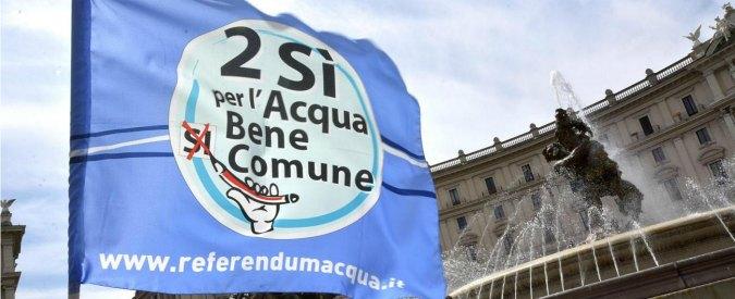 """Acqua pubblica, in Emilia la Cgil difende la multiutility. Comitati: """"Iren ha fallito"""""""