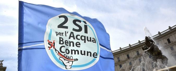 """Acqua pubblica, Piacenza e provincia votano per gestione a privati. """"Vergogna"""""""