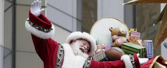 Babbo Natale 7 Cervelli.Monza Parroco Durante L Omelia Babbo Natale E Un Ciccione