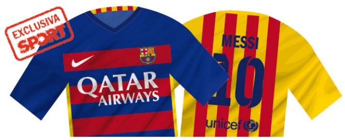 """Barcellona, nuova maglia a strisce orizzontali per """"colpa"""" dello sponsor"""