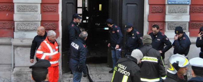 Bari, incendio in una palazzina del centro: un morto e tre feriti