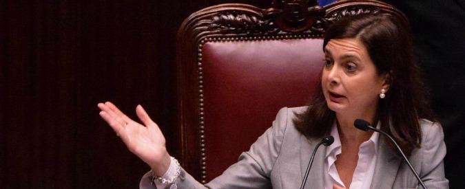 """Laura Boldrini risponde a Renzi: """"Difendere il Parlamento è il mio dovere"""""""