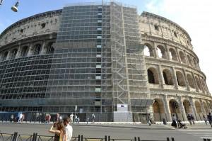 Diego Della Valle visita il Colosseo