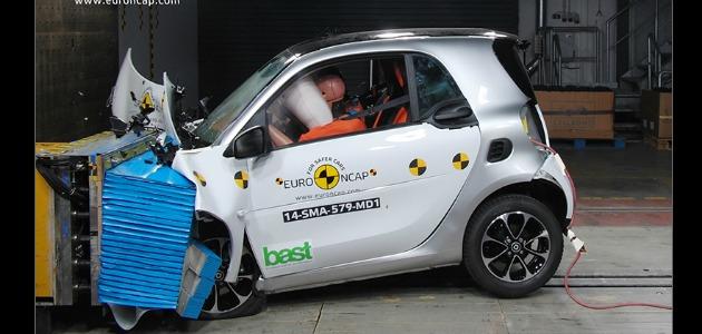 crash test Smart fortwo