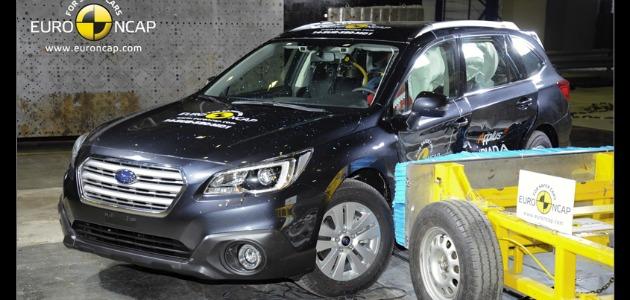 crash test Subaru Outback