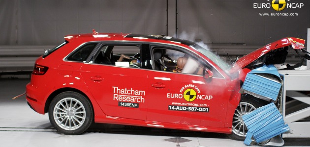 crash test audi a3 e-tron