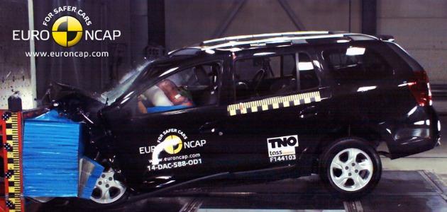 crash test dacia logan mcv