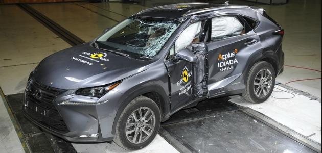 crash test lexus nx 2014
