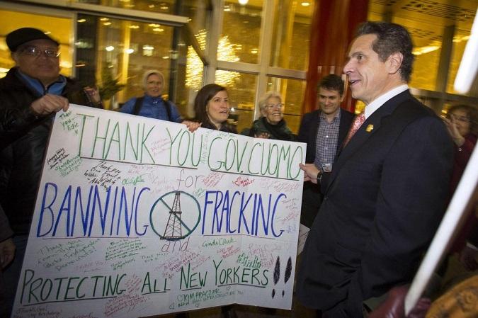 Andrew Cuomo -fracking-New York