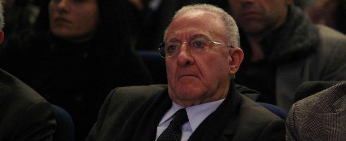 Salerno, De Luca sospeso dalla carica di sindaco dopo la condanna