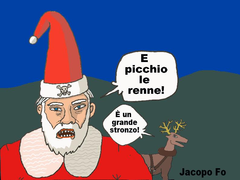 Campagnano r p babbo natale cattivo perch - Babbo natale porta i regali ai bambini ...