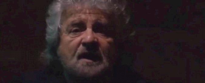 """M5S, il controdiscorso di Beppe Grillo: """"Noi il piano B dell'Italia"""""""