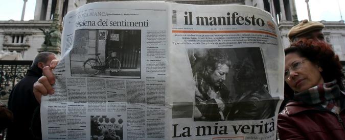 """Manifesto in edicola a 20 euro per salvare la testata: """"Chiudiamo solo il pugno"""""""