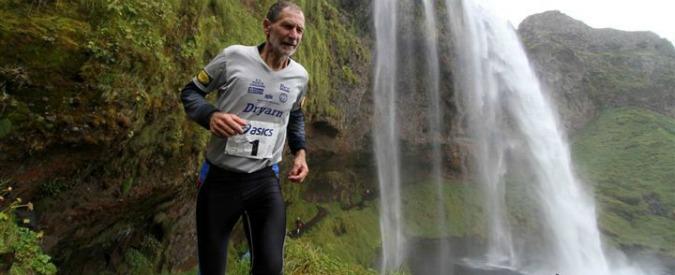 """Marco Olmo, 66 anni, correre contro i limiti: """"Fino all'ultimo, come gli animali"""""""