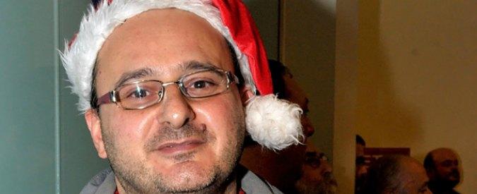 Massimo Tartaglia ferì Berlusconi. Ora fa casting per Babbo Natale