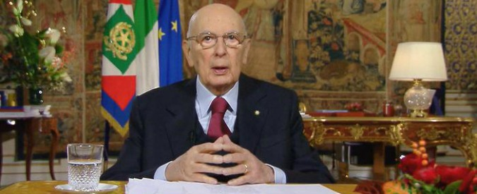 """Giorgio Napolitano, il discorso di fine anno: """"Sto per lasciare"""""""