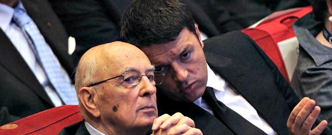 """Riforme, Napolitano blinda Renzi: """"No ostruzionismo e sindacato rispetti scelte"""""""