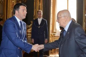 Giorgio Napolitano alla colazione di lavoro del prossimo Consiglio Europeo
