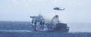 """Norman Atlantic: 10 morti, decine i dispersi. """"Traghetto sotto sequestro"""""""