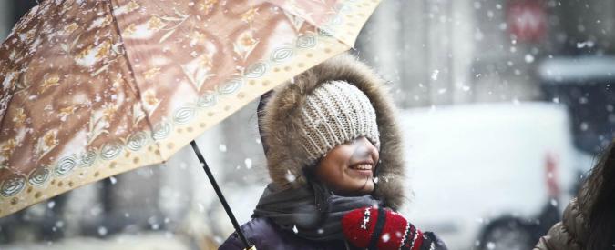 """Neve al nord: primi fiocchi a Milano. Effetto """"Buran"""" su tutta la penisola"""