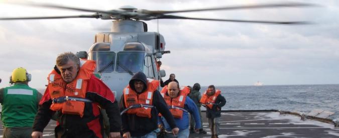 Norman Atlantic, i soccorsi di Marina Militare e Guardia Costiera (Fotogallery)