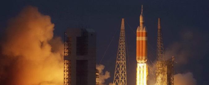 Orion, lanciata la prima capsula Nasa che porterà l'uomo su Marte