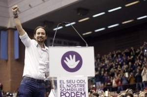 PODEMOS RALLI IN BARCELONA