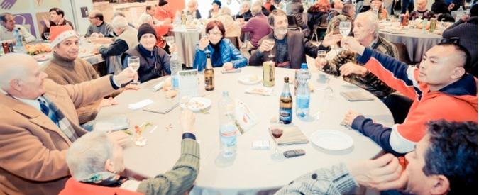 Natale a Bologna, al pranzo per i poveri anche imprenditori senza lavoro