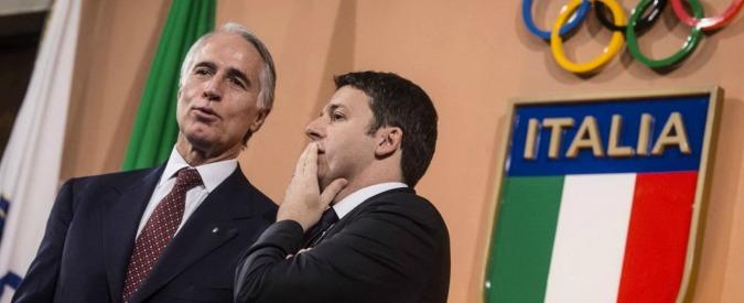 """Olimpiadi 2024, Renzi al Coni: """"Italia e Roma presenteranno la candidatura"""""""