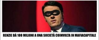 """Mafia Capitale, M5s: """"Il governo Renzi diede 100 milioni a Eur S.p.A"""""""