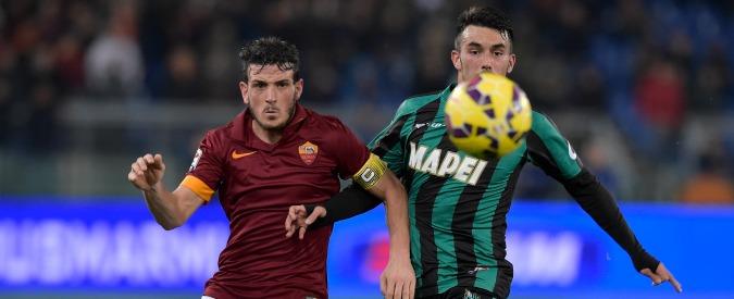 Roma-Sassuolo 2-2, i giallorossi si salvano alla fine. Sfuma la rimonta sulla Juve