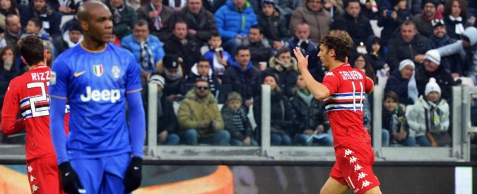 Juventus-Sampdoria: 1 a 1. I bianconeri frenano, ora la Roma può accorciare