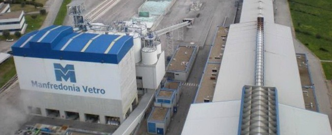 Sangalli Vetro Manfredonia, tra crisi e faide familiari 400 operai a rischio