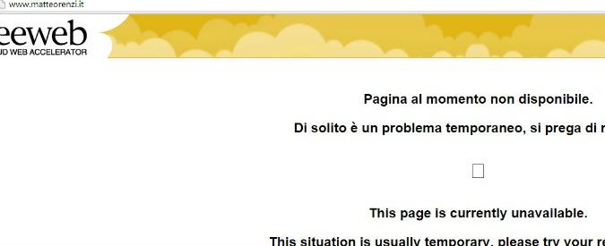 """Sciopero generale, Anonymous attacca il sito di Renzi: """"Noi con i lavoratori"""""""