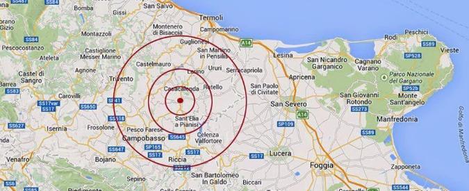 """Terremoto Molise, due scosse a Campobasso. """"Non ci sono danni"""""""