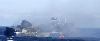 """Norman Atlantic, """"nessun aiuto dal personale di bordo durante il naufragio"""""""