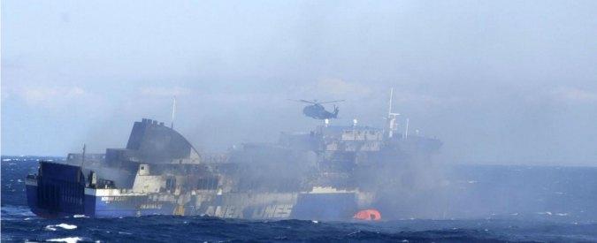 """Norman Atlantic, il racconto: """"Nave bruciava, marinai greci non ci aiutavano"""""""