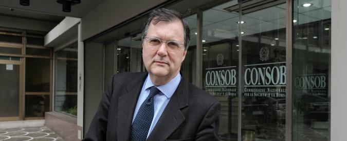 Consob, Vegas in difficoltà dopo le dimissioni del direttore generale Caputi