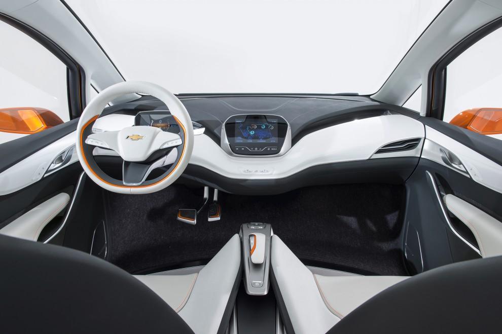 2015 Chevrolet Bolt EV Interior