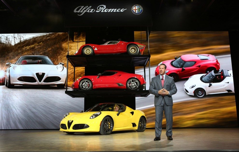 All-New 2015 Alfa Romeo 4C Spider World Premier