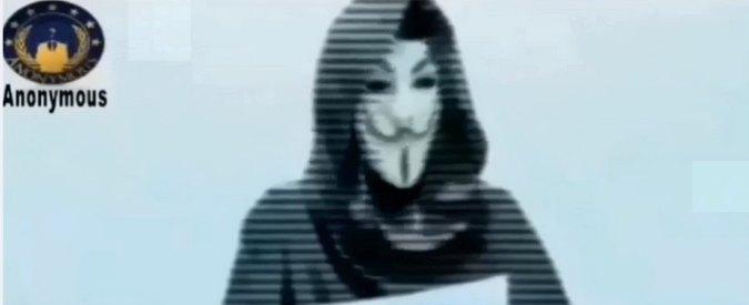 Charlie Hebdo, Anonymous non si ferma: quinto giorni di attacchi ai siti jihadisti