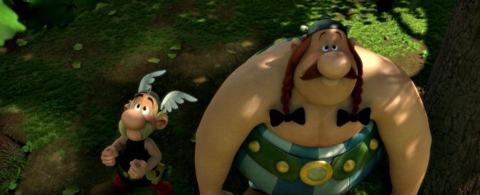 Asterix e Il Regno degli Dei, Giulio Cesare diventa palazzinaro in 3D