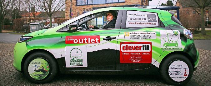 "Car sharing, in Germania nasce ""l'auto di paese"": una Zoe per 1.900 anime"