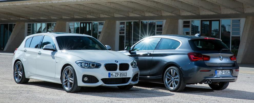 """Serie 1 restyling, ora ha i classici """"occhi"""" BMW. E motori 3 cilindri – Fotogallery"""
