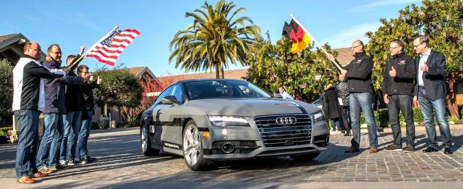 Le auto-robot tedesche al Ces di Las Vegas: guidano e parcheggiano da sole