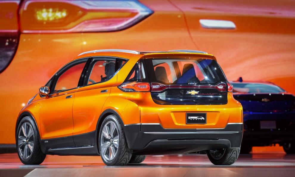 Chevrolet Unveils Bolt EV and Next -Generation Volt