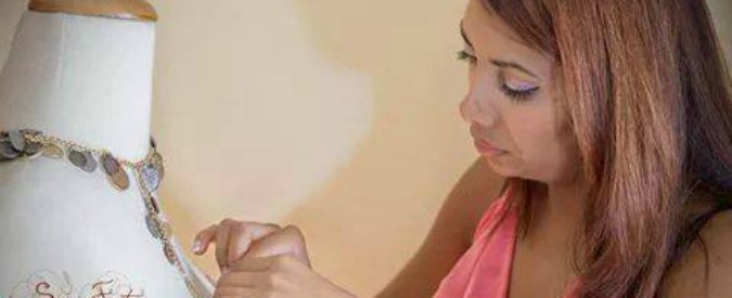 È rom la stilista che spera di diventare il nuovo talento del Made in Italy
