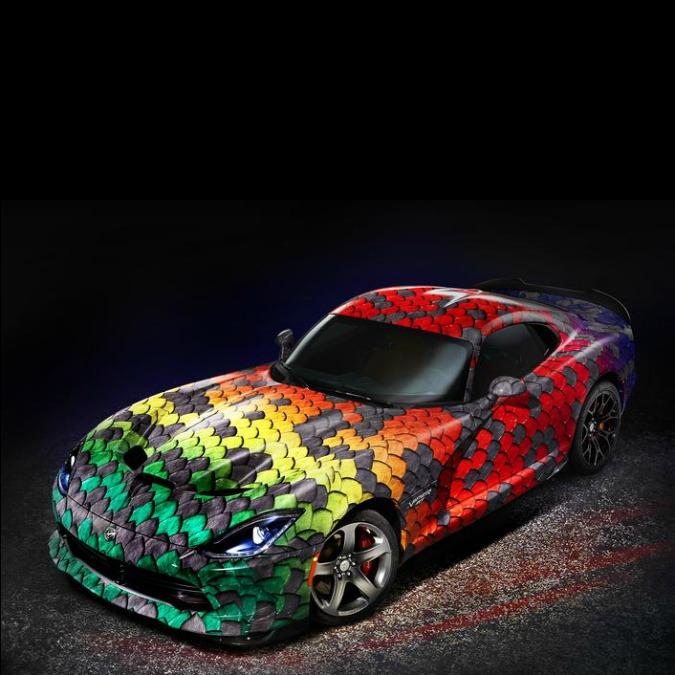 Dodge Viper, la super personalizzabile. Con il programma '1 of 1', solo pezzi unici