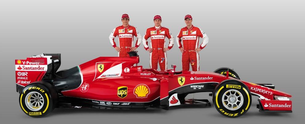 Nuova Ferrari SF15-T (FOTO), la monoposto di Formula 1 per Raikkonen e Vettel